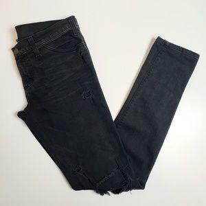 Current Elliott Distressed SkinnyJeans